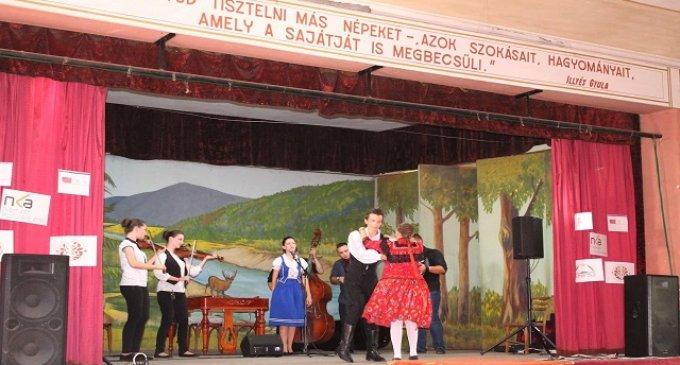 На Виноградівщині тривав 22-ий Табір народної творчості