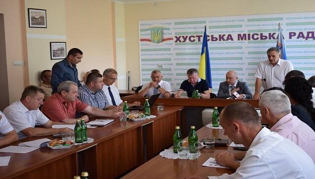 У Хусті вперше за 25 років відбулося регіональне зібрання Асоціації міст України