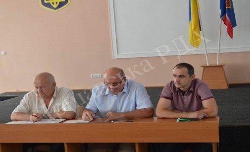 Відбулося позачергове засідання в Іршавській РДА