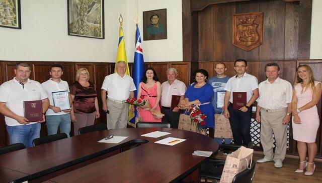Сьогодні відзначили кращих працівників торгівлі міста Мукачева