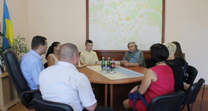Михайло Русанюк провів зустріч із юними журналістами та літераторами