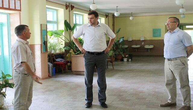 Голова Виноградівської РДА здійснив робочий візит у Фанчиково