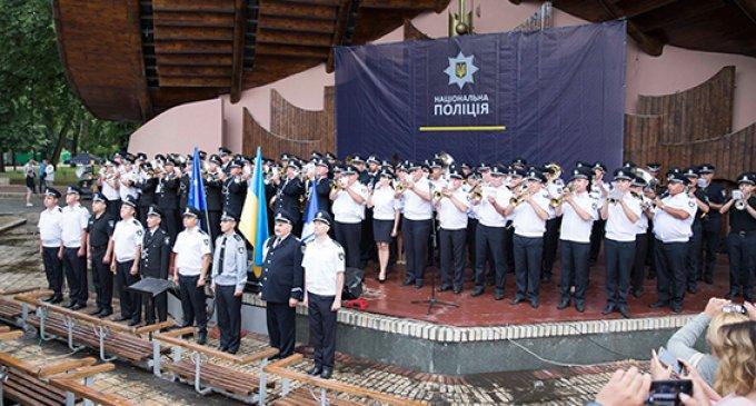 Оркестранти поліції Закарпаття поділилися враженнями про конкурс колективів у Києві