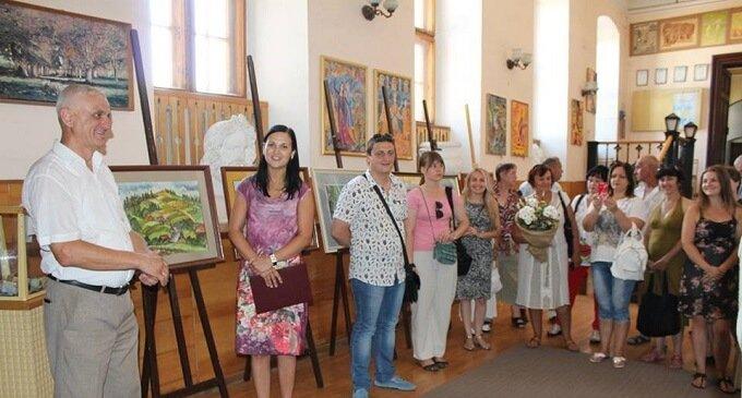 Фотозвіт: відкриття виставки Сергія Пішковція