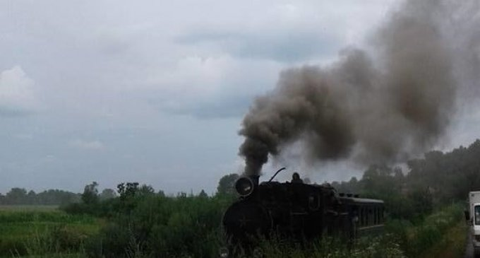 Упродовж серпня на Боржавській вузькоколійці пасажирів кататиме паровоз Гр-280