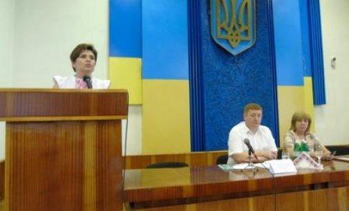 Голова Казначейства України Тетяна Слюз провела нараду в Міжгірській РДА