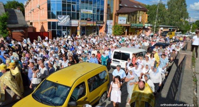 """Хустська єпархія долучиться до хресної ходи """"За мир і любов в Україні"""""""