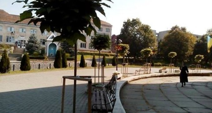 До центрального парку міста Перечин прибула реанімаційна бригада