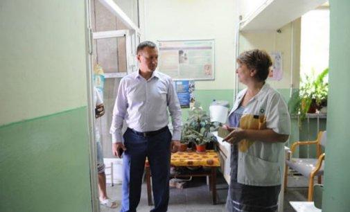 Амбулаторію на вулиці Сечені в Ужгороді капітально ремонтують вперше за кілька останніх десятиріч