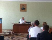 Відбулась зустріч іршавчан з Якубцем Василем Юрійовичем
