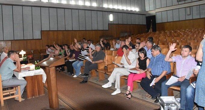 Відбулося засідання ІІ чергової сесії Іршавської міської ради VІІІ скликання