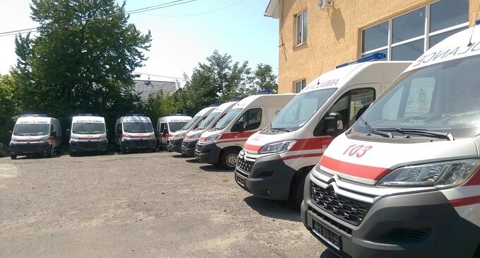 Іршавщина отримала нові автомобілі швидкої допомоги