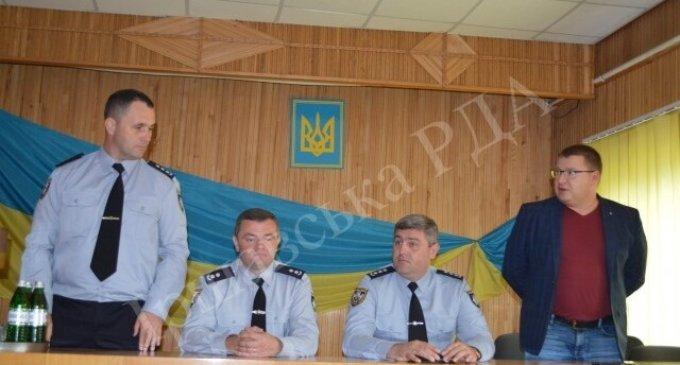 Іршавську поліцію очолив Віктор Ребрей