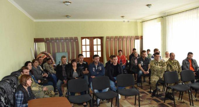 В Іршаві пройшла зустріч з учасниками бойових дій