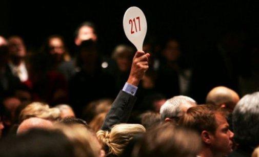 В Іршавській міськраді відбувся аукціон