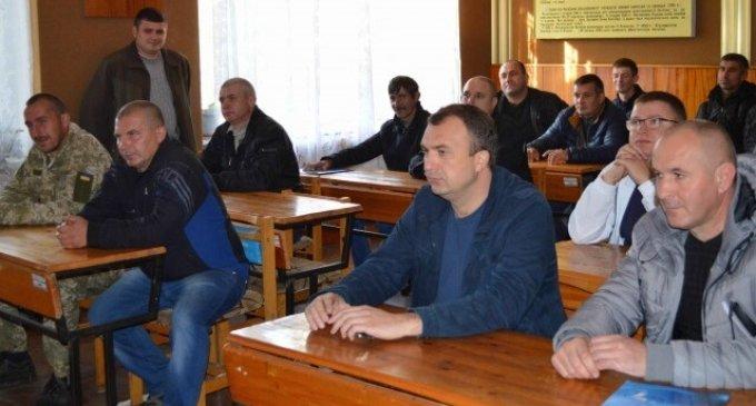 Військовозобов'язаних з іршавського району відправлено на навчальні збори