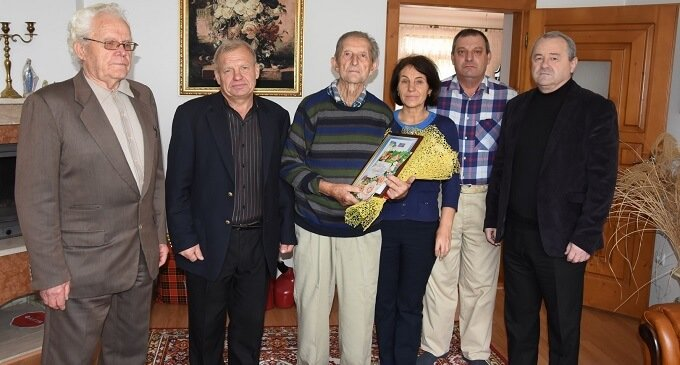 Житель Іршави відзначив 95-річний ювілей