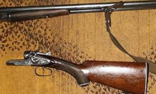 Житель с. Довге приніс до поліції знайдену рушницю