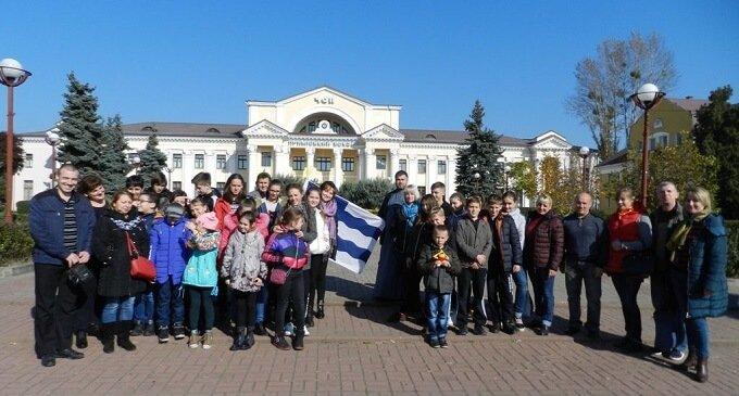"""""""Схід і Захід – разом!"""": до Чопа завітали школярі зі Слов'янська"""