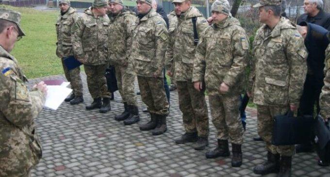 На Іршавщині провели військові навчання