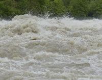 Вода у верхів'ях річок Закарпаття пішла на спад