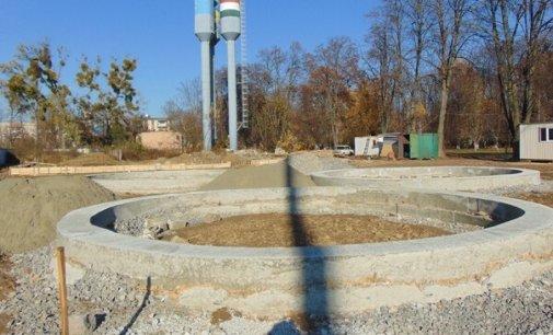 У Чопі триває будівництво міського водозабору