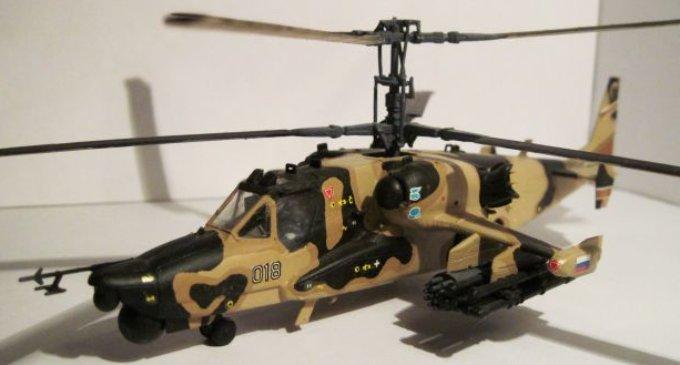 Збірні моделі вертольотів