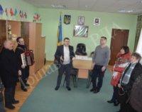 Сьогодні в Іршавській райдержадміністрації колядували