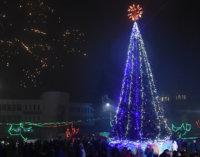 Святкування нового року в Іршаві