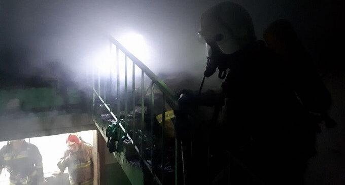В Ужгороді горіла 16- поверхівка