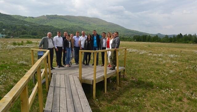 Розпочав роботу новий туристично-інформаційний центр в урочищі Глуханя