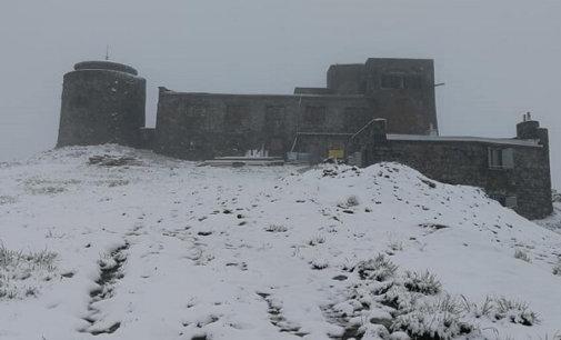У Карпатах випав перший літній сніг