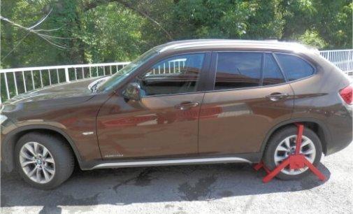 Викрадений в Німеччині автомобіль знайшовся на Закарпатті