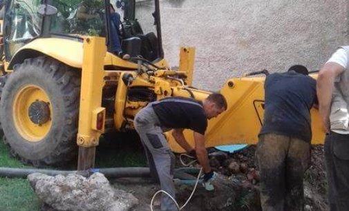 У Іршаві відремонтовано ще одну каналізаційну мережу