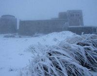 На Закарпатті гори вкрились снігом – соцмережі (ФОТО)
