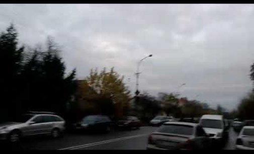"""Протести водіїв """"євроблях"""" (ВІДЕО)"""