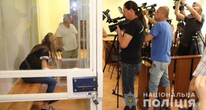 Суд Ужгорода взяв дівчину-водія Porsche під варту без права застави
