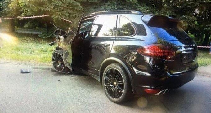З'явилися фото жахливої ДТП з Porsche в Ужгороді