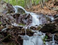 Неймовірної краси водоспад на Іршавщині (фото)