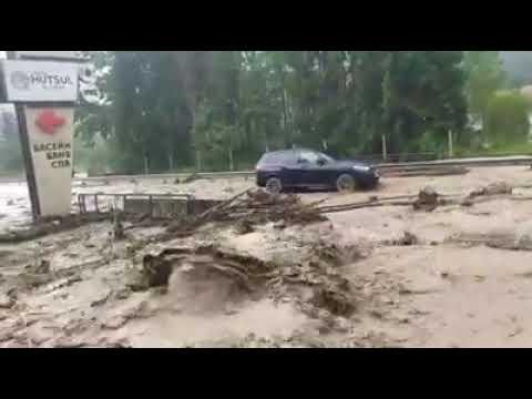 У Карпатах стихія зруйнувала мости і розмила дороги (ФОТО, ВІДЕО)