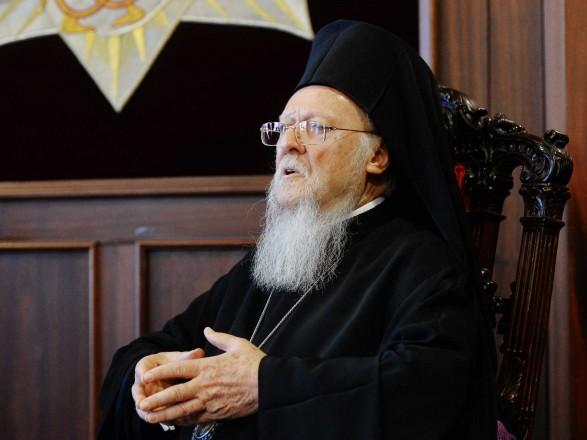 Вселенський патріарх Варфоломій відвідає Україну у серпні наступного року