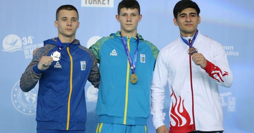 11 нагород вибороли українські гімнасти на ЧЄ у Мерсіні