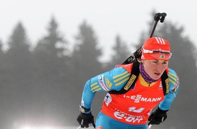 Валентина Семеренко не побіжить гонку переслідування в Хохфільцені
