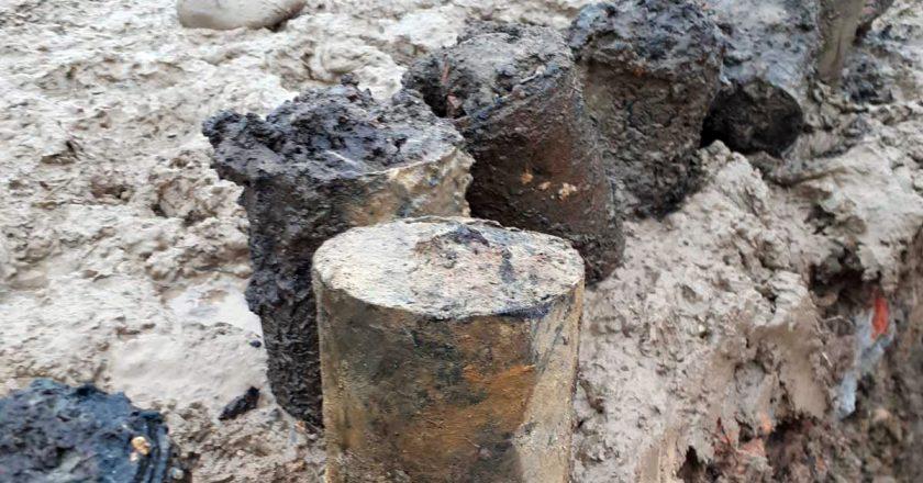 У Хусті знайдено арсенал боєприпасів з Другої світової війни