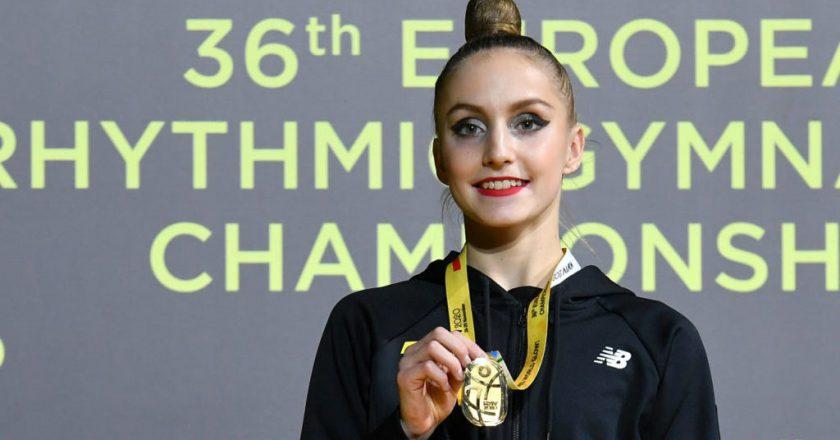Гімнастка з Запоріжжя виграла чемпіонат Європи