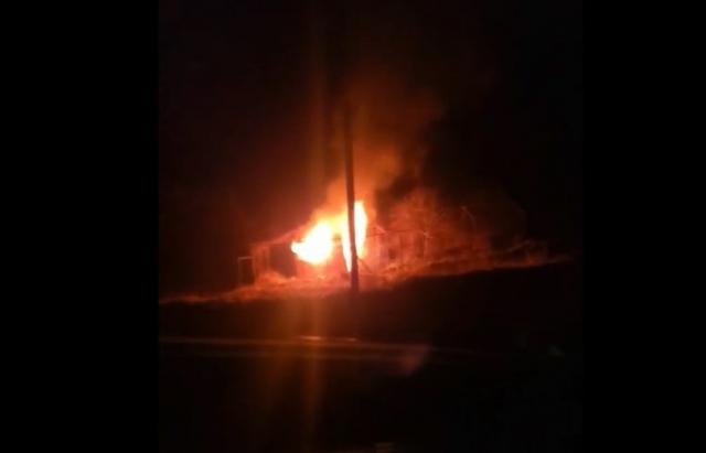 Згоріло до тла: подробиці пожежі під Мукачевом