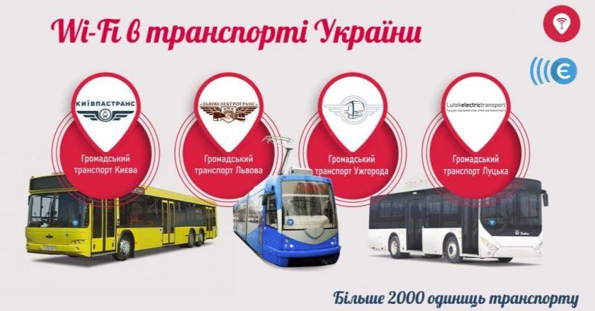 Безкоштовний Wi-Fi буде в автобусах Ужгорода