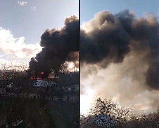 Їдкий дим заполонив ціле село: страшна пожежа на Тячівщині