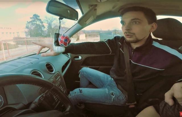 «Дати сто рублів на бензін»: Закарпатський гуморист випустив смішне відео про курси водіння (ВІДЕО)