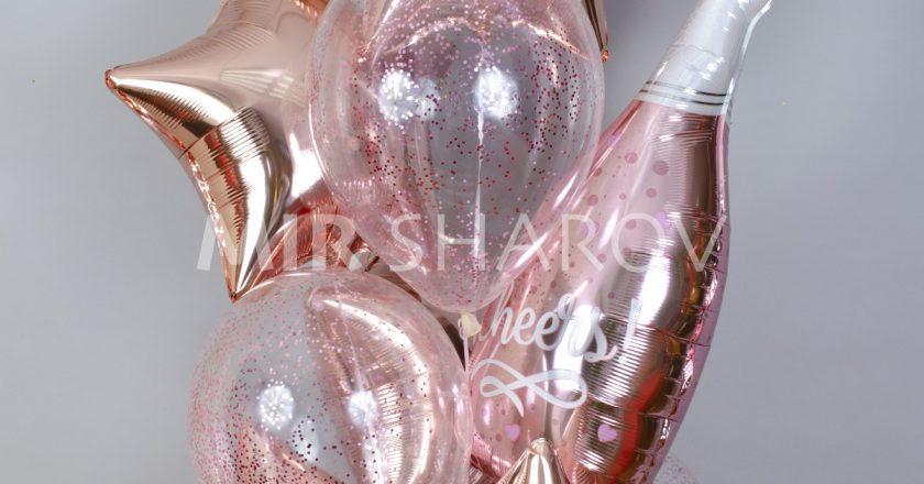 Фольговані кульки-зірки – для поціновувачів яскравих подарунків